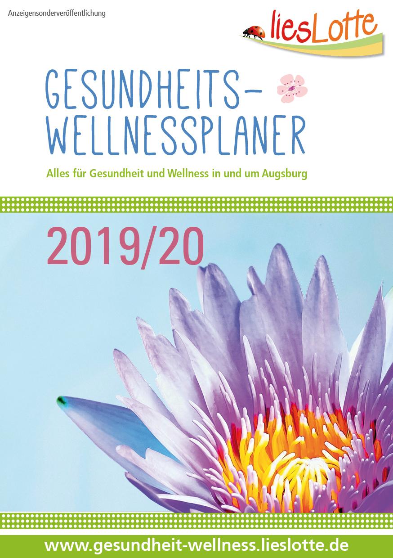 Der liesLotte Gesundheits- & Wellnessplaner 2019/20