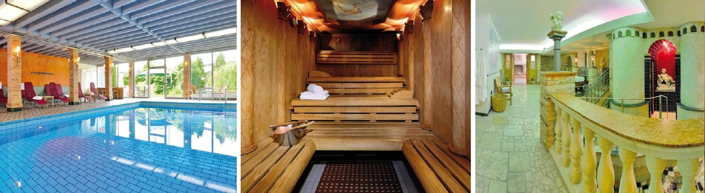 Wellnessbereiche im Hotel Alpenhof